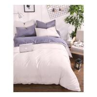床上四件套 双人可水洗床单被罩保暖磨毛被褥套装学生宿舍单人三件套