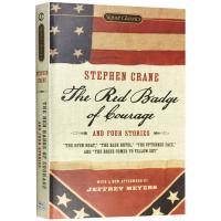 The Red Badge of Courage 红色英勇勋章及四个故事 英文原版小说 英文版原版 进口英语书籍