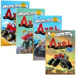 I Can Read系列 英文原版 Axel the Truck4册合售 儿童英语阅读故事书 幼儿英语课外读物绘本书