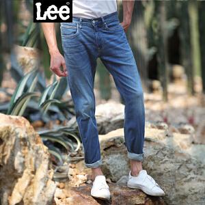 Lee男装 商场同款2017春秋新品中腰小直脚牛仔裤潮L127262HV4LX