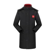 中长款棉衣 户外冬季运动大衣 加厚 保暖 防风 舒适国家队中长款棉衣保暖训练 X