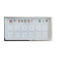 儿童相框创意金属挂墙摆台宝宝纪念周岁礼物婴儿照片框
