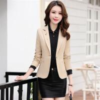 修身显瘦气质唯美百搭可爱时尚长袖短款西装年春季