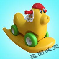 宝宝摇摇马滑行车音乐木马玩具摇摇乐儿童滑滑学步踏板四轮车