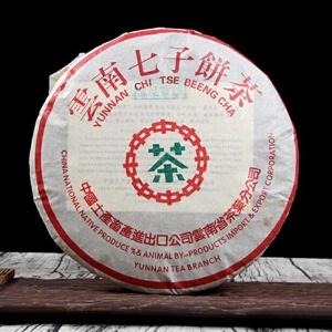 2003年 中茶 宫廷贡茶 茶叶普洱茶 熟茶 357克/饼 7饼