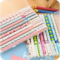 韩国文具 小清新可爱中性笔|水笔 0.38mm彩色 10色套装