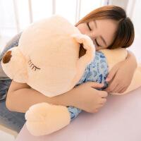 抱抱熊娃娃毛绒玩具睡觉女孩布娃娃公仔趴趴熊抱枕儿童可爱