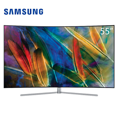 三星(SAMSUNG)QA55Q7CAMJXXZ 55英寸4K量子点智能网络液晶曲面电视55英寸4K量子点智能网络液晶曲面电视