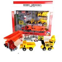 仿真合金车套装工程车消防车飞机巴士车玩具儿童云梯车模型过家家男孩礼物 MS6301N