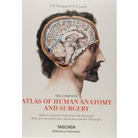 Bourgery: Atlas of Human Anatomy and Surgery艺用人体解剖 外科手术解剖学画
