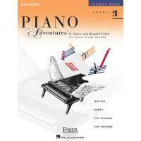 预售 英文原版 菲伯尔钢琴乐谱 2B级乐理 Piano Adventures: Level 2B: Theory Boo