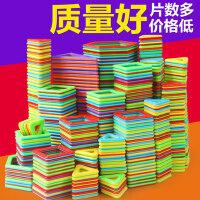 磁力片儿童益智积木玩具纯磁铁3女4-6岁男孩吸铁石百变磁性拼装贴
