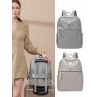 14寸电脑包双肩包女2021新款时尚简约大容量书包休闲商务电脑背包