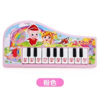 儿童迷你电子琴玩具宝宝早教音乐小钢琴小女孩玩具琴1-3岁 飞天小小猪 粉色