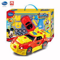 男孩车拆装工程车拼接汽车模型玩具男孩6-12岁儿童礼物益智早教启蒙 官方标配