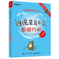 谁说菜鸟不会数据分析(工具篇)(纪念版)(全彩) 张文霖 电子工业出版社