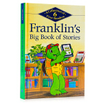 小乌龟富兰克林6个故事合集 Franklin's Big Book of Stories 英文原版绘本 汪培�E书单 加