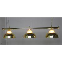 台球灯吊灯LED无影灯具美式黑八斯诺克桌球灯水晶灯三罩绿头灯