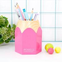 学生多功能笔筒创意时尚 韩国 小清新可爱桌面摆件儿童收纳盒