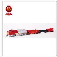 百万城火车 火车模型玩具 摇控火车 圣太飞套装 00647