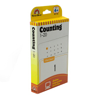 Evan-Moor Learning Line Flashcards Counting 1-20 学习起跑线系列1-2