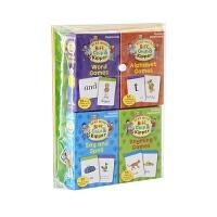 牛津练习册ertognORT Lv1-3Activity Sticker Flahcard Pack等级1-3自然拼读