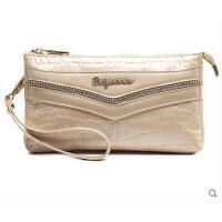 女士手包挎包新款小包时尚手提包女士手拿包女休闲鳄鱼纹手�塘闱�包单肩包潮支持礼品卡支付