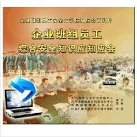企业班组员工综合安全知识应知应会 2CD-ROM(满500元送8G U盘)安全教育视频光盘