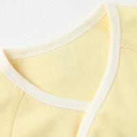 初生儿衣服0-3月系带宝宝内衣内裤套装婴儿和尚服