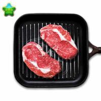 嘉食和 澳洲眼肉牛排【原切牛排 非腌制】6块共850g 搭配黄油 牛扒套餐 生鲜牛肉 顺丰到家
