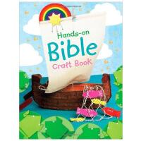 【预订】Hands on Bible Craft Book手工圣经制作书 英文儿童互动童书