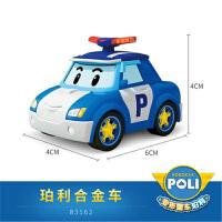 【支持礼品卡】变形警长珀利机器人POLI警车玩具车儿童玩具 合金车模套装j3n