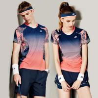 羽毛球服女款套装男速干短裤裙透气YY网球服打折训练队服