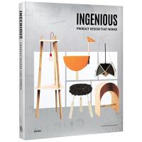INGENIOUS Product Design that Works 造物有道 可以带回家的创意产品 家具造型 智能产品设计画册 工业设计书籍