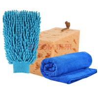 多功能洗�套�b 擦�巾+珊瑚手套+珊瑚海�d