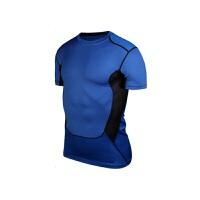 紧身衣男运动短袖T恤速干健身衣足球篮球服压缩衣
