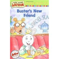 Buster's New Friend(Chapter Book 23)亚瑟小子:巴斯特的新朋友 ISBN 9780316123075