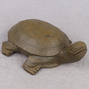 端砚 绿端 《灵龟》