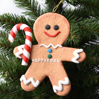 圣诞装饰品挂件挂饰摆件挂饰面包土姜饼人造型圣诞节日装饰道具品