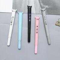 韩国创意搞怪恶魔中性笔可爱0.5mm黑色水笔学生办公签字笔
