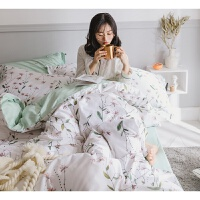 少女公主风四件套棉床单床上用品三件套宿舍被套1.5床笠1.8