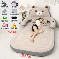 卡通气垫床加大单双人床垫加厚户外便携懒人沙发充气床家用榻榻米