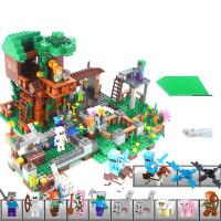 我的世界兼容乐高积木玩具男孩子拼装7儿童8塑料拼插6-12岁