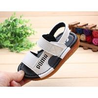 1岁男童凉鞋夏季韩版软底宝宝学步凉鞋1周岁婴幼儿童沙滩鞋
