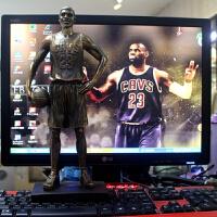 新款nba篮球公仔科比詹姆斯手办人偶模型摆件球迷周边礼物送男生
