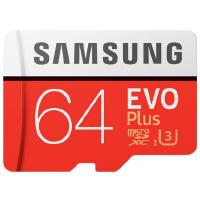 【包邮】三星 64G TF 原装手机内存卡 64g内存卡 64gtf卡 EVO Plus 64G 存储卡 MicroS
