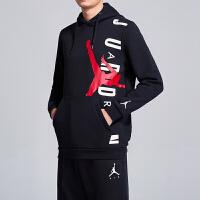 Nike耐克男装卫衣2019新款Jordan连帽长袖针织时尚休闲运动服AO0447