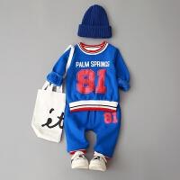 童装男童秋冬装0-1-2-3-4岁婴幼儿外出服幼儿衣服套装