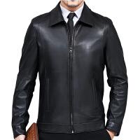 特价海宁真皮皮衣男绵羊皮男士皮衣薄外套短款皮夹克修身春秋