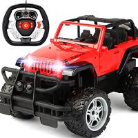 超大遥控可开门越野车充电高速攀爬大脚赛车儿童玩具男孩遥控汽车